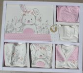 Miniworld Kız Bebek 10 Lu Çilekli Tavşan Hastane Çıkışı