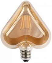 Ct 4307 Cata 6 W Rustik Led Ampul Amber E27 Duy