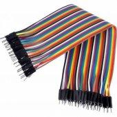 Arduino Erkek Erkek Jumper Kablo 40 Adet 30 Cm Arduino Kablo