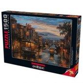 Anatolian San Francisco Sokakları 1500 Parça Puzzle