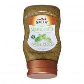 Sacla Pesto Squeezy Fesleğenli Makarna Sosu 270 G