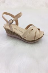 Comfort Kadın Dolgu Tabanlı Sandalet (2)