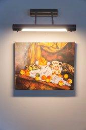 Paul Cezanne Elmalar İle Natürmort Kanvas Tablo (1)