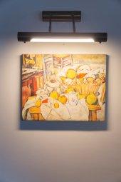 Paul Cezanne Elmalar İle Natürmort Kanvas Tablo (3)