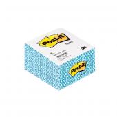 Post-it Yapışkanlı Not Kağıdı Küp Kenarı Desenli 300 YP 69,8x69,8 Beyaz 2040-DPB