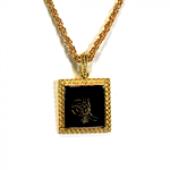 Tuğra Gold Zincir Kolye-3