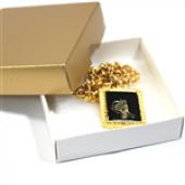 Tuğra Gold Zincir Kolye-4