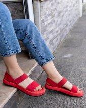 Macle Kırmızı Sandalet