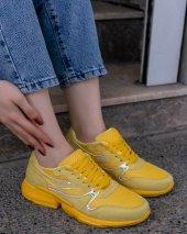 Malinda Sarı Süet Spor Ayakkabı