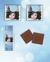 Kişiye Özel Frozen Temalı Madlen Çikolata