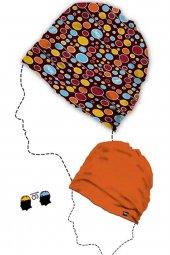 Narr Bere Çift Taraflı Kullanabilen Bere Dots Coloured Bere
