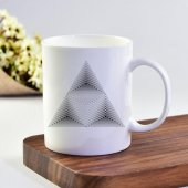 Ekupam Geometrik Desen Baskı Kupa Bardak