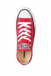 Converse Converse Chuck Taylor All Star Unisex Kırmızı Kısa Sneaker (M9696C)-4