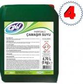 Oxy Kalitesi Parfümlü Çamaşır Suyu 5 Kg 4 Adet...