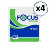 Focus Optimum Peçete 100lü 4 Paket