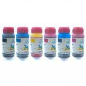 Smartink HP Uyumlu 250ml 6 Renk Set Mürekkep