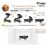 Huggy Revo 5 İn 1 Travel Bebek Arabası-7