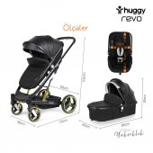 Huggy Revo 5 İn 1 Travel Bebek Arabası-10