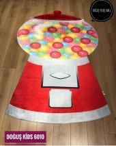üç Boyutlu Kaymaz Taban Çocuk Odası Halısı D Kids 6010