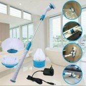 şarjlı Temizlik Makinası Banyo Yüzey Temizleme Fırçası Makinesi