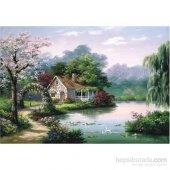260 Parça Küçük Bahçe Köşkü Puzzle