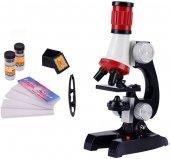 Bilimsel Eğitici Mikroskop Kiti Zoom Led Işıklı...