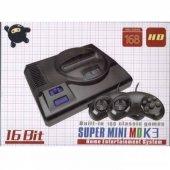 16 Bit Süper Mini Md K3 Klasik Oyun Atari 168 Oyun