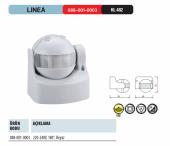 Horoz Linea Duvar Sensör 180 Derece