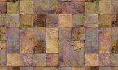 çok Renkli 3 Boyutlu Taş Desen Duvar Kağıdı
