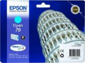 Epson Wp5110 5190 Cyan Mavi Mürekkep Katuş T79124010