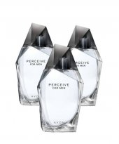 Avon Perceive Edt 100ml Bay Parfüm 3 Adet