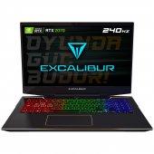 Excalibur G900.1075 Bd70x Intel 10.nesil İ7 10750h 16gb Ram 240gb Ssd 8gb Rtx2070 Dos