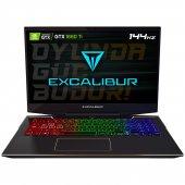 Excalibur G900.1075 Edl0r Intel 10.nesil İ7 10750h 64gb Ram 240gb Ssd 6gb Gtx1660ti W10pro