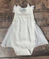 Edel Weiss Kız Bebek Fiyonklu Elbise