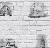 Pop Art 512009 Galata Kulesi Desenli Duvar...