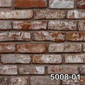 Retro 5008 01 Eskitme Tuğla Desenli Duvar...