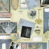 Gekkofix 12911 Kartpostal Desen Dekoratif Yapışkanlı Folyo