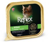 Reflex Plus Kümes Hayvanlı Alu Tray Yavru Kedi...
