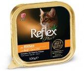 Reflex Plus Biftekli Alu Tray Yavru Kedi Maması...