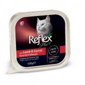 Reflex Plus Kuzu Etli & Havuçlu Alu Tray...