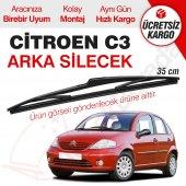 Citroen C3 Arka Silecek (2002 2009)