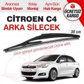 Citroen C4 Arka Silecek (2012 2014)