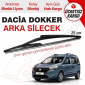 Dacia Dokker Arka Silecek (2012 2015)