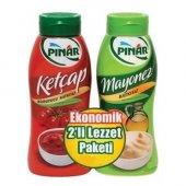 Pınar Ketçap Mayonez 420 G + 350 G