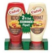 Calve Ketçap 400 G + Mayonez 350 G