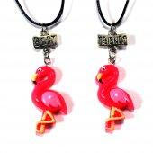 Best Friends Flamingo Kolye