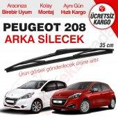 Peugeot 208 Arka Silecek (2012-2017)
