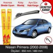 Nissan Primera Silecek Takımı (2002-2008) İnwells Muz
