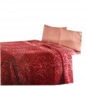 özdilek Battaniye Tek Kişilik Naturel Kırmızı