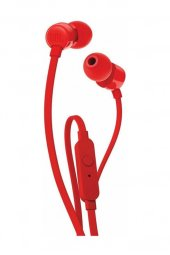 Jbl T110 Kablolu Kulak İçi Kulaklık Ct Ie Kırmızı